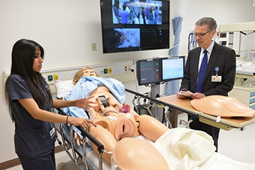 'Smart' mannequins breathe life into medical scenarios
