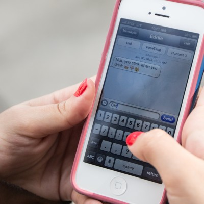 Smtg to think abt: Texting could help reduce teen drinking