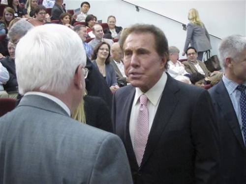 Steve Wynn: University on path to blindness cure