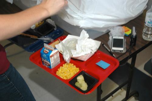Study evaluates lunchroom plate waste