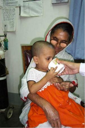 Succesful results in developing oral vaccin against diarrhea