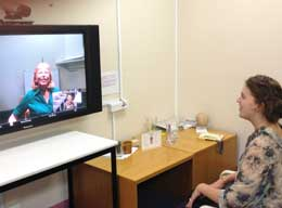 Touching lives through video therapy