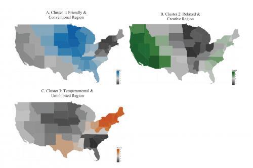 US regions exhibit distinct personalities, research reveals