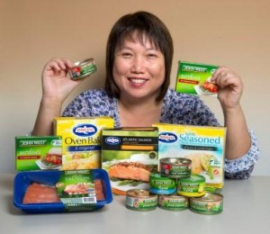 Variety and convenience can help women boost their intake of fish