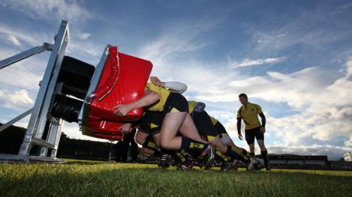 When rugby and mechanical science collide