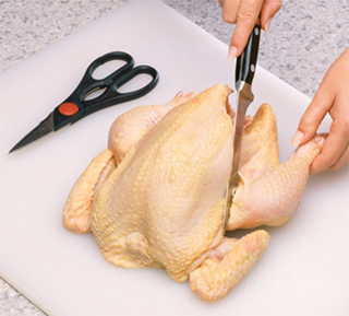 Whole chickens from farmers markets may have more pathogenic bacteria