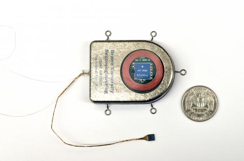 Wireless, implanted sensor broadens range of brain research
