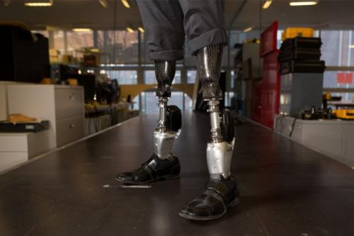 Bionic ankle 'emulates nature'