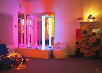 Hospital sanctuary aims to soothe or stimulate young patients' senses