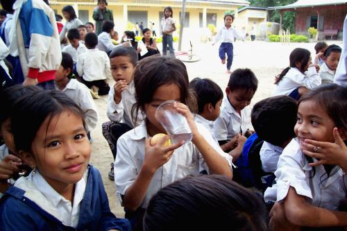 School sick days could be reduced with safe drinking water
