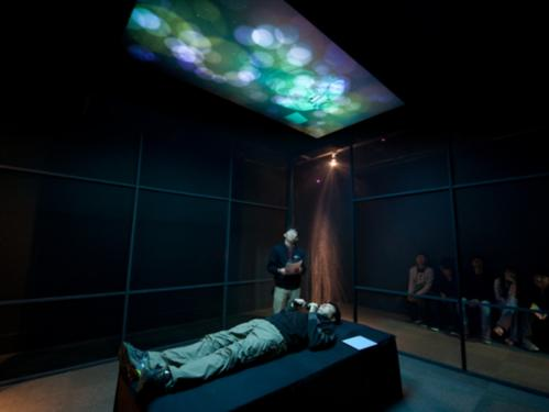 The healing potential of interactive art