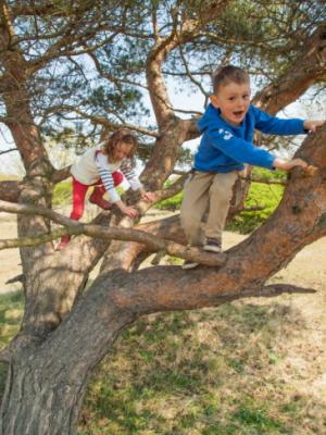 The health benefits of playing outdoors with friends