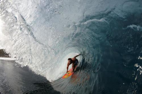 Professional surfer back in the water after successful surgery to treat rare bone cancer