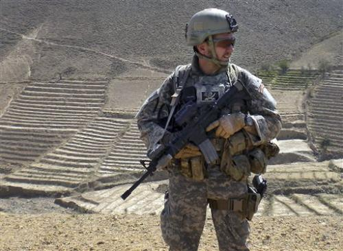 US soldier's widow speaks on post-traumatic stress