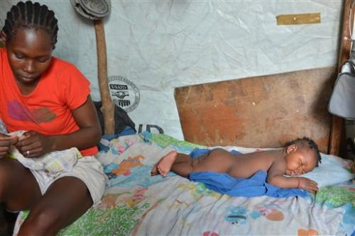 Virus strikes hard in Haiti's crowded shantytowns