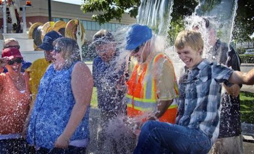 Cold cash just keeps washing in from ALS challenge