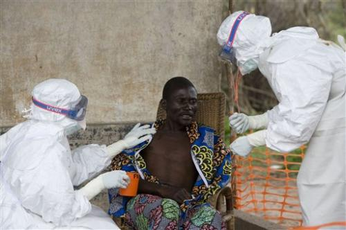 Ebola victims quarantined in Guinea
