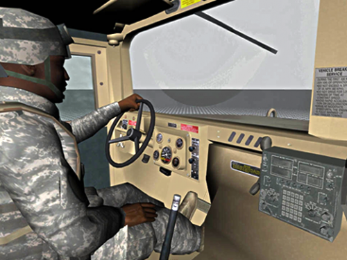 First findings of virtual reality exposure therapy for PTSD