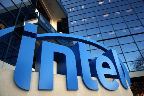 Intel headquarters on January 16, 2014 in Santa Clara, California