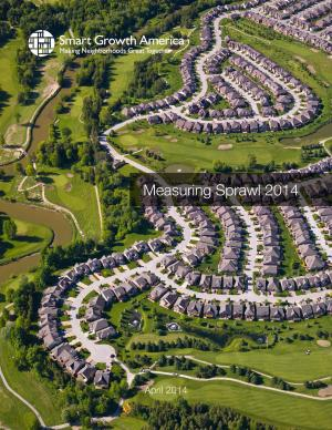 Less sprawl equals better quality of life