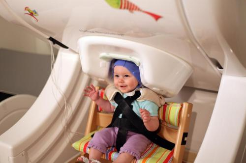 Months before their first words, babies' brains rehearse speech mechanics