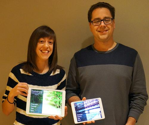 New dementia app brings together siblings, crosses disciplines