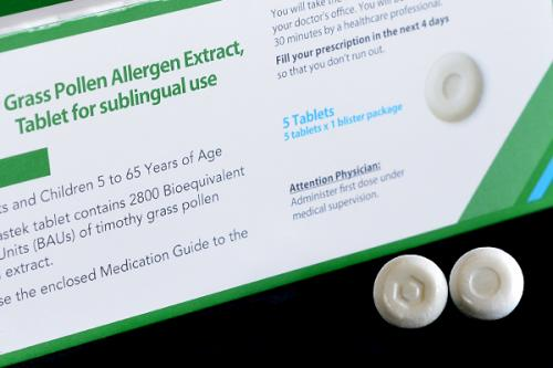 New sublingual pill may help allergies