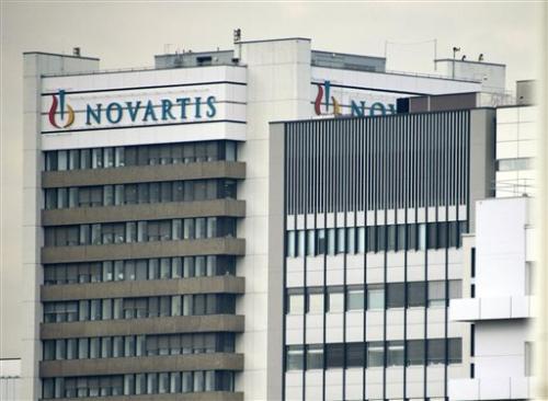 Novartis cites momentum in 3 percent profit rise