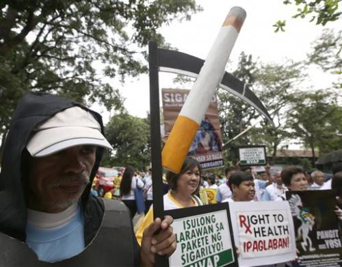 Philippines may soon make smoking warnings graphic