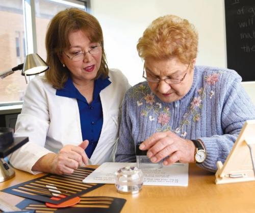 Rehabilitation helps prevent depression from age-related vision loss