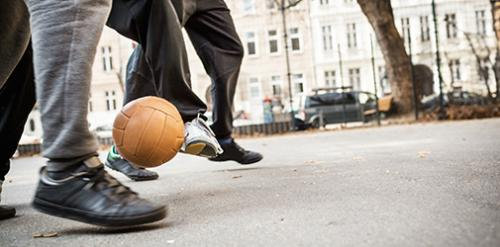 Street football boosts fitness and health in socially deprived men