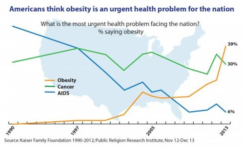 The Public's Perception of the Obesity Epidemic
