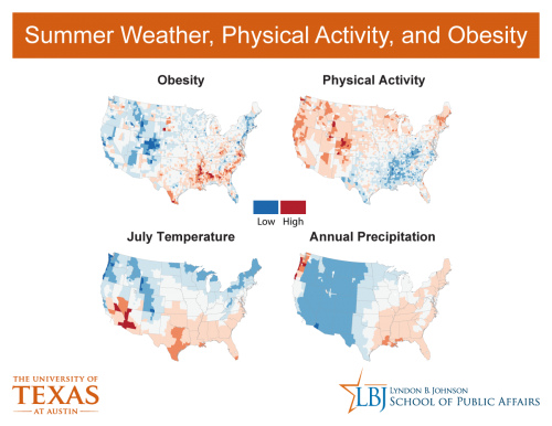 Too hot to exercise? New research links obesity to temperature and humidity