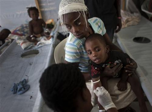 UN: Haiti has more cholera than any other nation