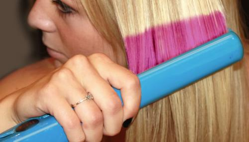 New technology allows hair to reflect almost any color