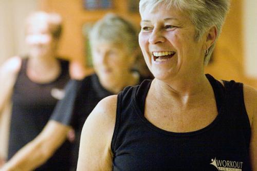 Workout buddies: helping cancer survivors get exercise