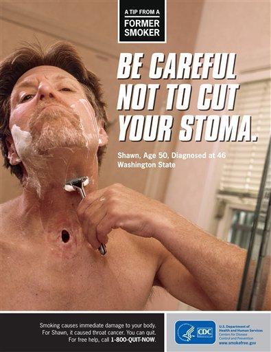 Cigarette Ads 2012 Anti-smoking ad campaign